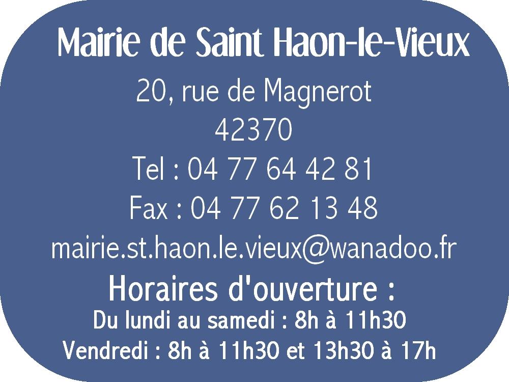 horaires mairie bleu